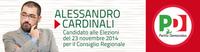 Alessandro Cardinali. Uno di noi in Regione.